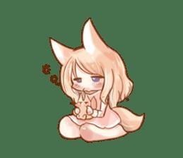 little fox daily sticker #7862351