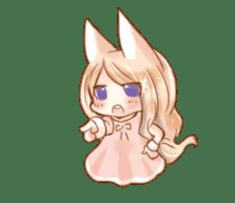 little fox daily sticker #7862353