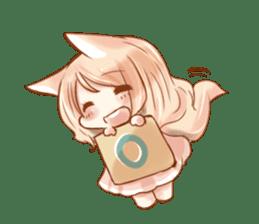 little fox daily sticker #7862354