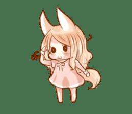 little fox daily sticker #7862356