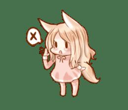little fox daily sticker #7862358