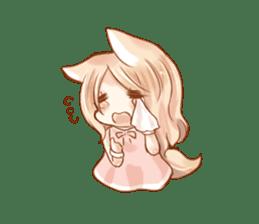 little fox daily sticker #7862359