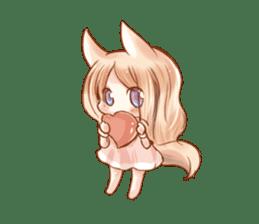 little fox daily sticker #7862360