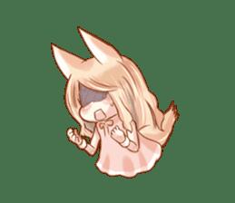 little fox daily sticker #7862365
