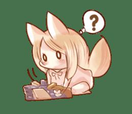 little fox daily sticker #7862367
