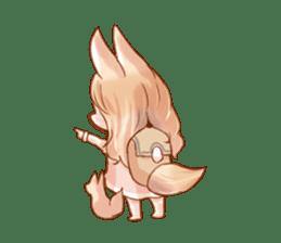 little fox daily sticker #7862368