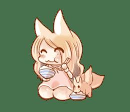 little fox daily sticker #7862369