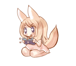 little fox daily sticker #7862370