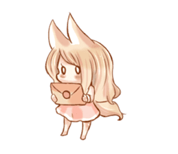 little fox daily sticker #7862371