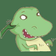 Baby T-Rex sticker #7864692