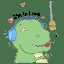 Baby T-Rex sticker #7864693