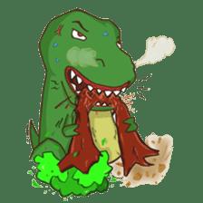 Baby T-Rex sticker #7864697