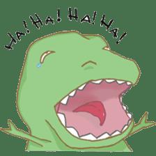 Baby T-Rex sticker #7864699