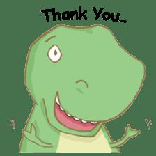 Baby T-Rex sticker #7864700