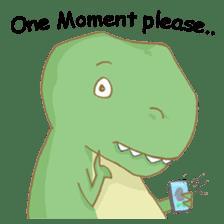 Baby T-Rex sticker #7864701