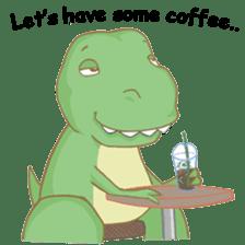 Baby T-Rex sticker #7864704