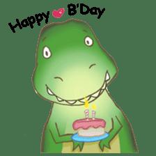 Baby T-Rex sticker #7864711