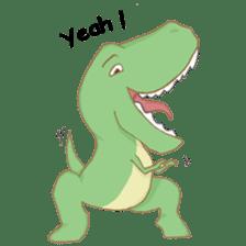 Baby T-Rex sticker #7864716