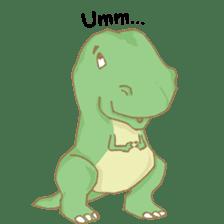 Baby T-Rex sticker #7864718
