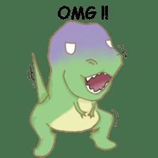 Baby T-Rex sticker #7864721