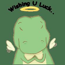 Baby T-Rex sticker #7864726