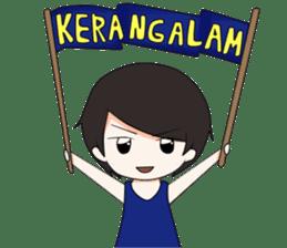 Boso Walikan Kera Ngalam sticker #7867258