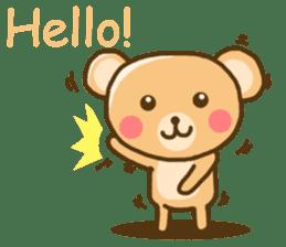 My Darling Teddy sticker #7867820