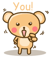 My Darling Teddy sticker #7867828
