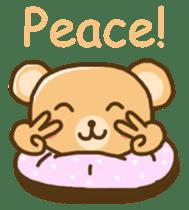 My Darling Teddy sticker #7867829