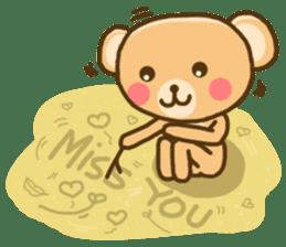 My Darling Teddy sticker #7867846