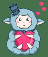 Happy Alpaca Time sticker #7868024