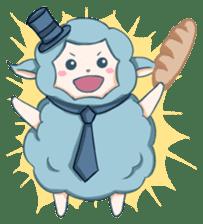Happy Alpaca Time sticker #7868026
