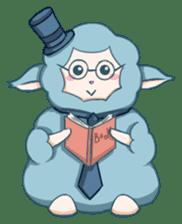 Happy Alpaca Time sticker #7868029