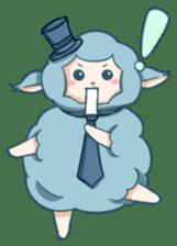 Happy Alpaca Time sticker #7868034