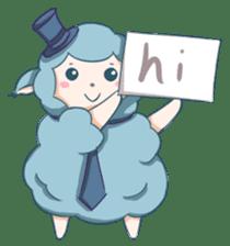 Happy Alpaca Time sticker #7868039