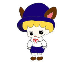 Alice in Kawaii Land sticker #7875646