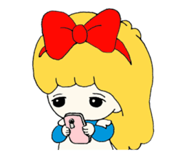 Alice in Kawaii Land sticker #7875647