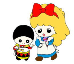 Alice in Kawaii Land sticker #7875667