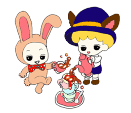 Alice in Kawaii Land sticker #7875671