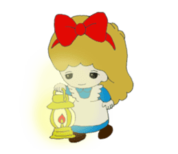 Alice in Kawaii Land sticker #7875679