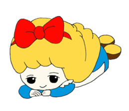 Alice in Kawaii Land sticker #7875680