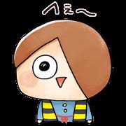 สติ๊กเกอร์ไลน์ Kawaii GeGeGe no Kitaro2
