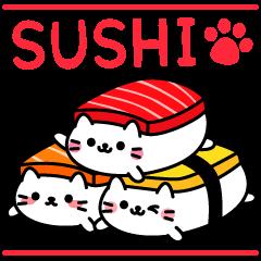 Cat Sushi (English edition)