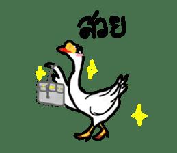 Say Goose! sticker #7882405