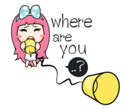 Do you miss me (EN) sticker #7886326