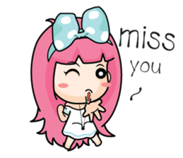 Do you miss me (EN) sticker #7886352