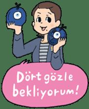 Turkish stickers ! sticker #7890708