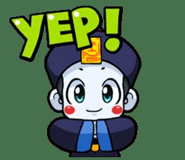 Jiang shi boy : Little Chinese Vampire sticker #7891885