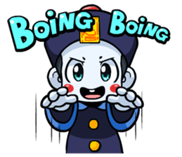 Jiang shi boy : Little Chinese Vampire sticker #7891886