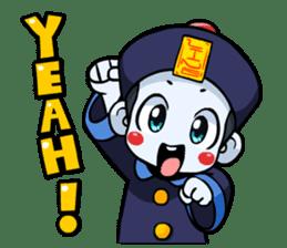 Jiang shi boy : Little Chinese Vampire sticker #7891887